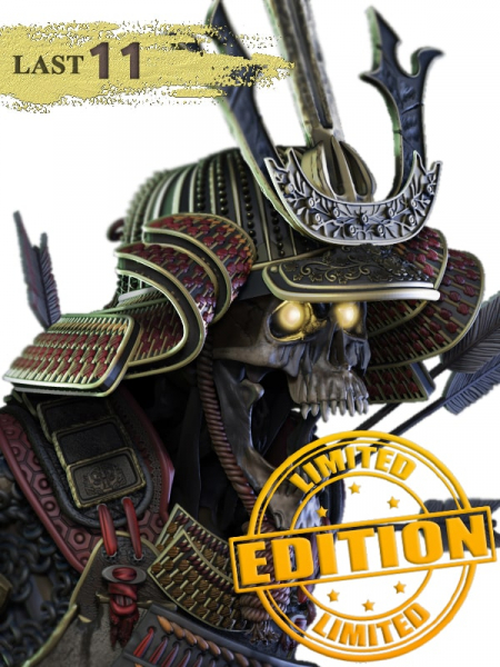 BUST SAITO BENKEI THE STANDING DEATH + PERSONAL STAND