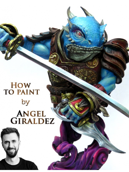 Video masterclass by Angel Giraldez. Painting bust from A TO Z.