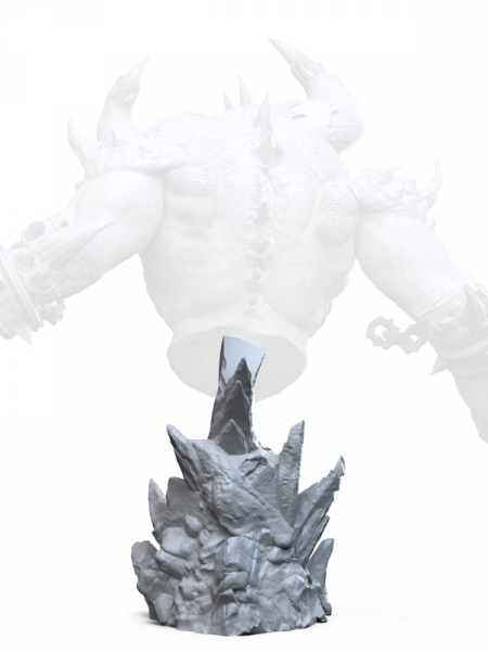 Personal stand for HELIOTROPE HELLSCRAPER