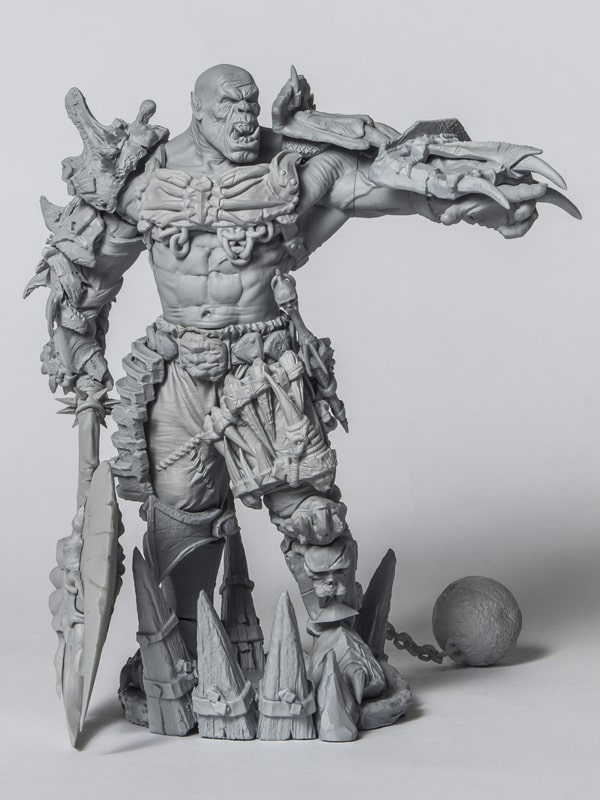 STL ORC WARLORD + ALL ADD-ONS