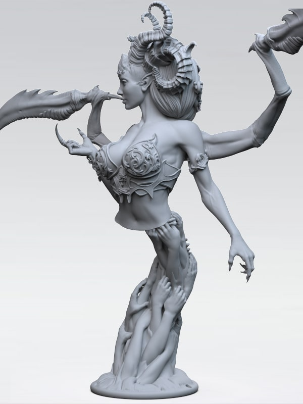 STL BLISSARAH THE WONDROUS END+Stand