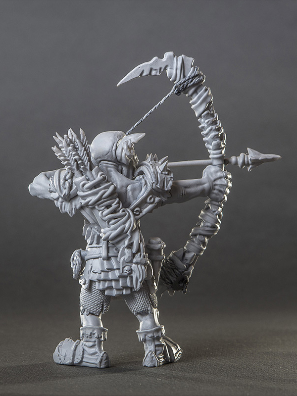 STL GOBLIN ARCHER + ALL ADD-ONS